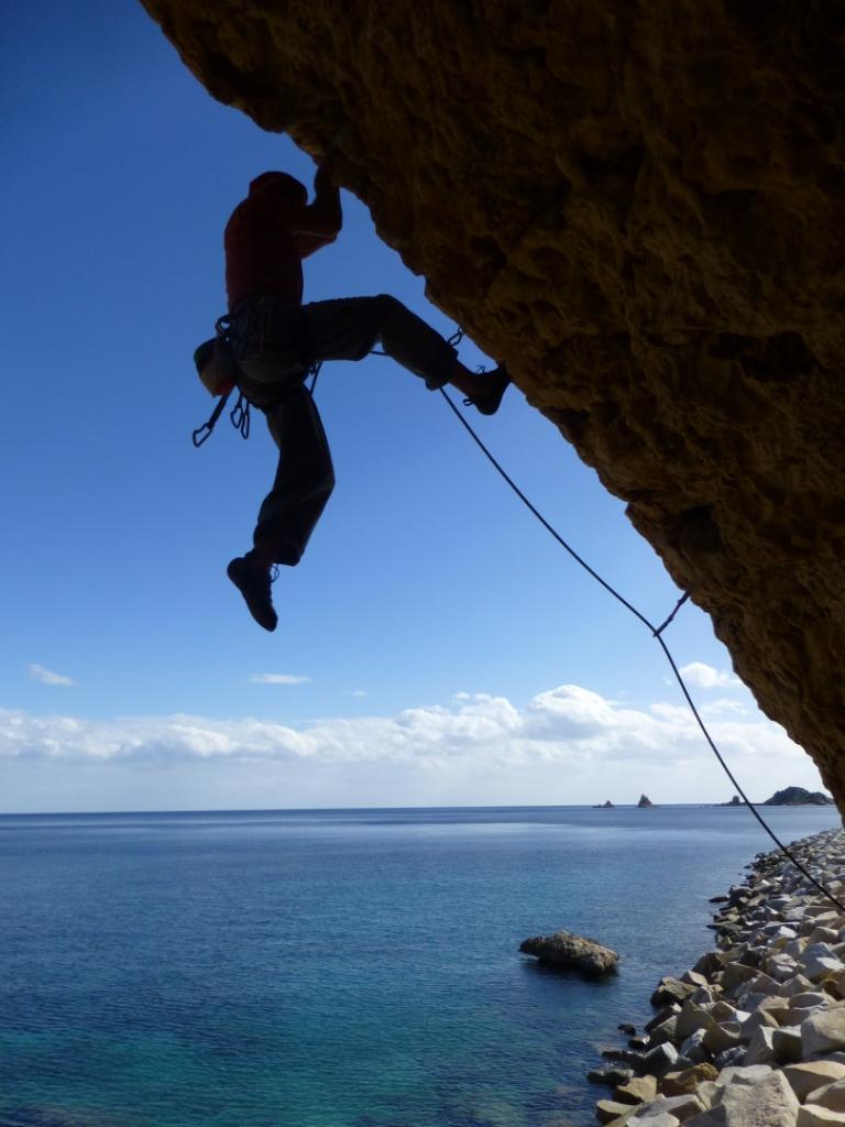 Cliffhanger Sardinien